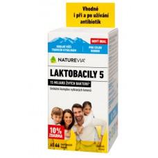 """NATUREVIA LAKTOBACILY """"5"""" / 60 + 6 cps"""