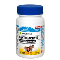 """NATUREVIA LAKTOBACILY """"5"""" / 15 cps"""