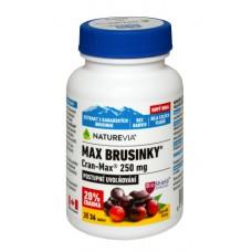 NATUREVIA MAX BRUSNICE 250mg - Cran–Max ®  / 30 + 6 tbl
